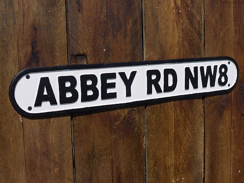 Abbey Road Industrial Sign