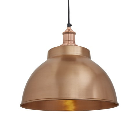 "13"" Copper Ceiling Light"