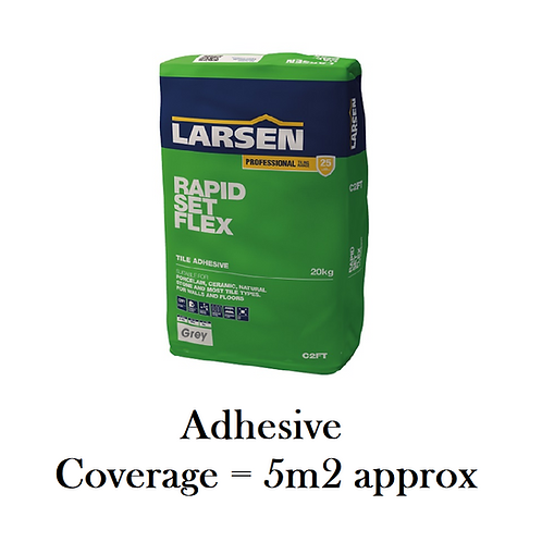 Rapid-setting adhesive (grey)