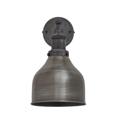 Pewter Cone Wall Light