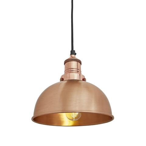 "8"" Copper Ceiling Light"