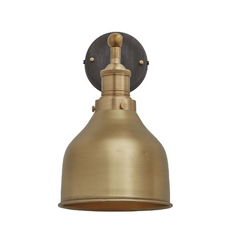 Copper Cone Wall Light