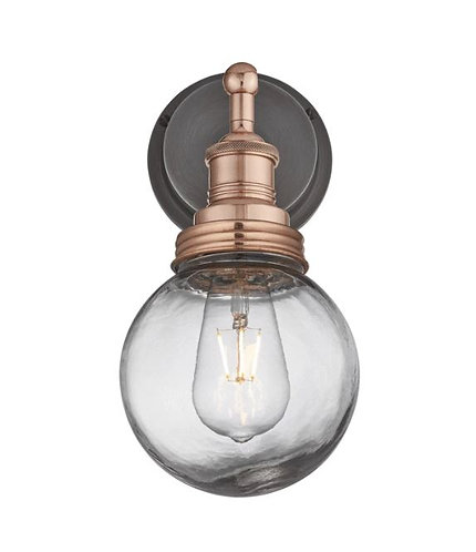 Copper Globe Wall Light - Bathroom and Outdoor