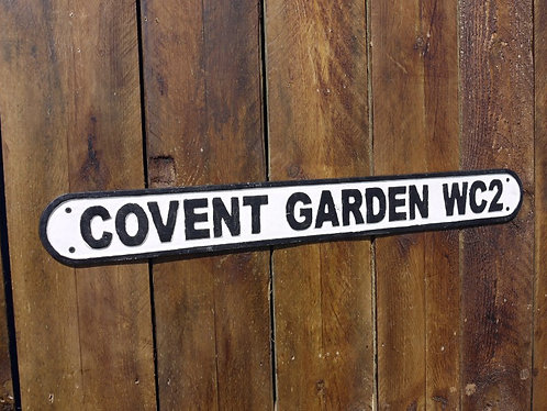 Covent Garden Industrial Sign