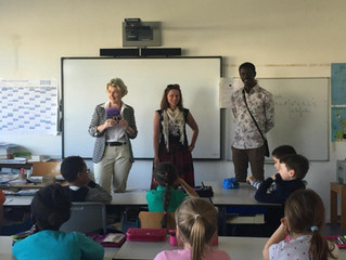 Intervention à l'Ecole et au Lycée français de Munich