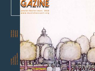Le Magazine Munich Accueil s'intéresse au livre LEUR PÉRIPLE