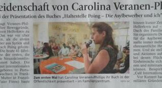 Buchlesung vom Buch HALTESTELLE POING am 15. Februar 2017 in Seefeld