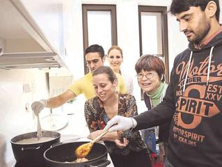 Integration beim Kochen