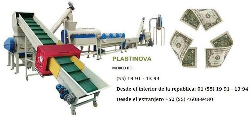 linea de reciclaje para plastico