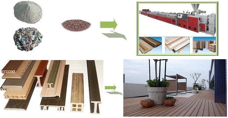 madera plastica