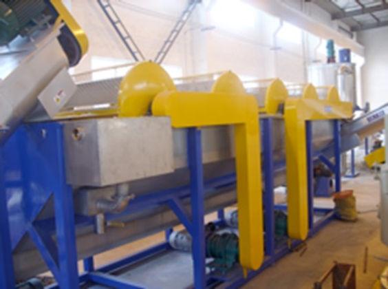 Tanque de lavado y separacion por densidad washing tank