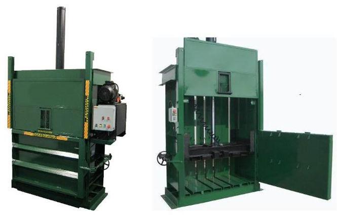 prensa compactadora para reciclables