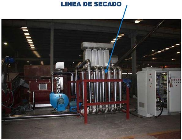 secadora de aire caliente para plastico