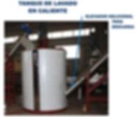 helicoidal para extraccion de plastico