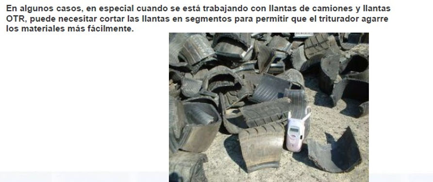 recicladora de neumaticos