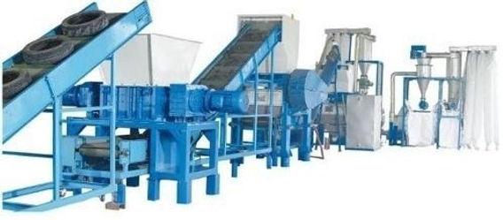 Maquinaria pasra reciclaje de llantas