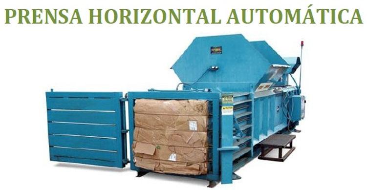prensa horizontal