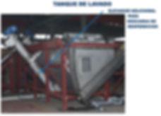 tanque de lavado para plastico film bolsa agricola