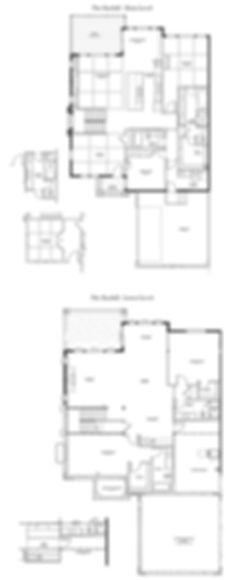 The Bayhill New Home Floor Plan - Castle Rock Colorado