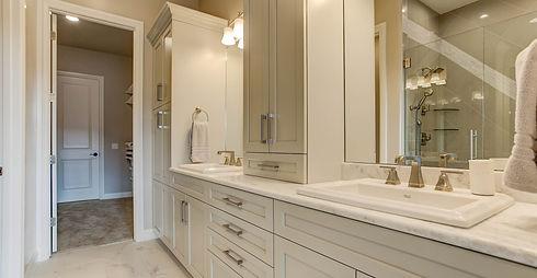 New Homes Master Bathroom Suites Main Level Master Larkspur Castle Rock Colorado