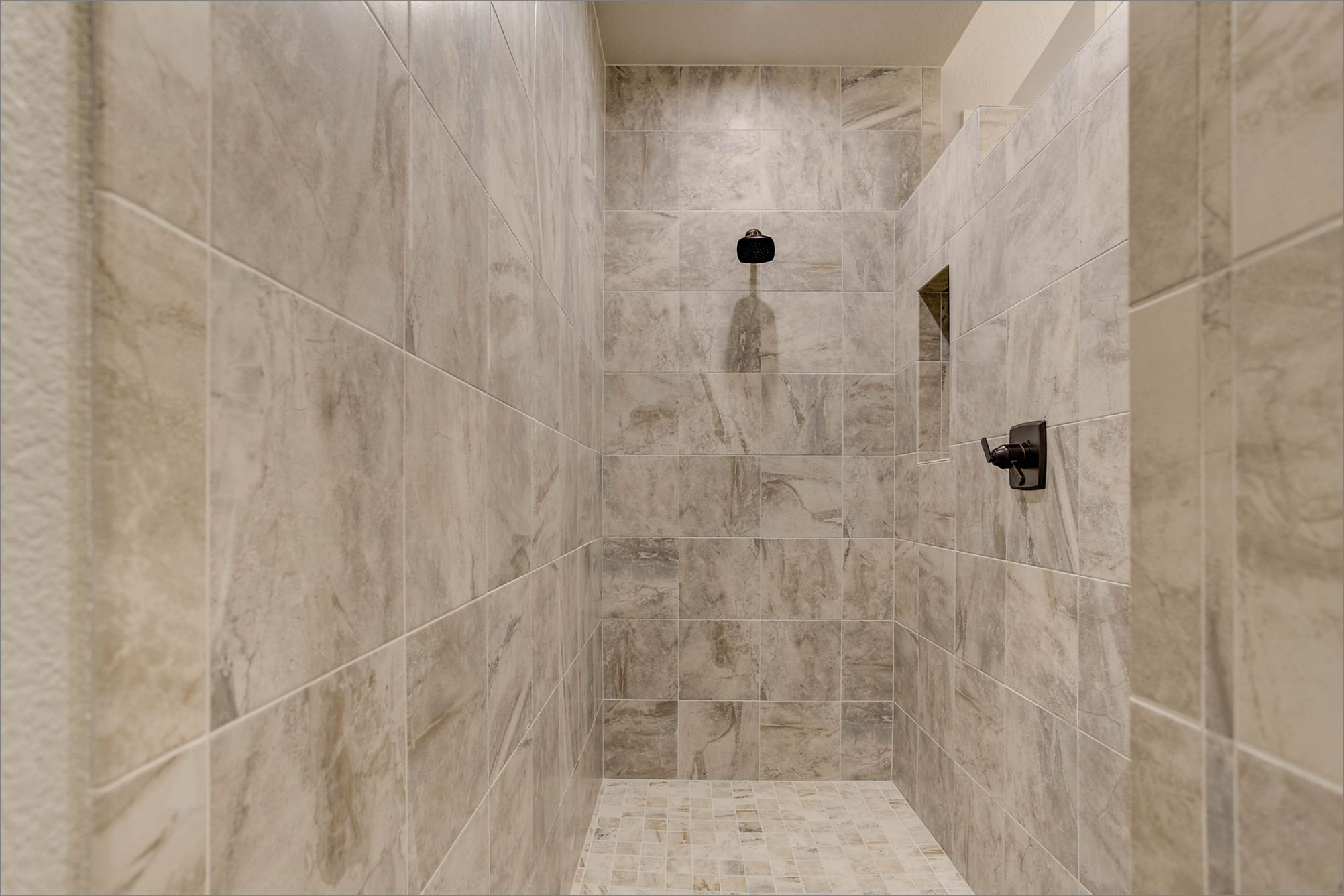 Floor to Ceiling Shower Tile