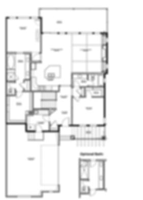 Augusta Model Main level New Home Floor Plan