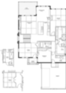 Bayhill Model Main level New Home Floor Plan