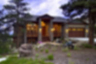 Stone Aspen New Luxury Modern Mountain Craftsman Custom Home Castle Rock Colorado