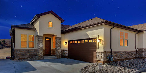 Bayhill Luxury semi custom Golf course New Home Castle rock Colorado