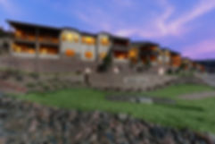 Stone Aspen Retreat Perry Park New Homes Larkspur