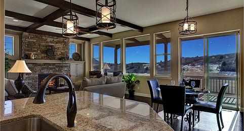 New Low Maintenance Main Level master homes Castle Rock