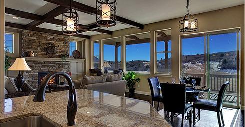 New Home Custom Options Luxury Low Maintenance Larkspur Castle Rock Colorado