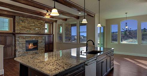 New Home Open Floor Plan Larkspur Castle Rock Colorado