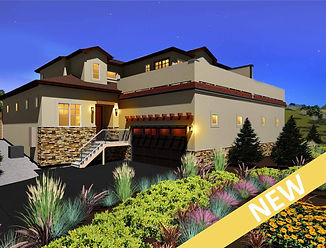 Cypress New Home Plan Low Maintenance Main Level Master Larkspur Colorado
