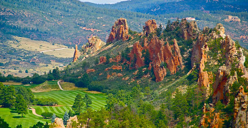 Perry Park Country Club Red Rock Golfing Larkspur Colorado