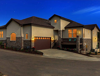Augusta New Home Plan Low Maintenance Main Level Master Larkspur Colorado