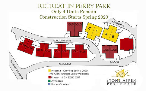 Retreat in Perry Park Community Map Lark