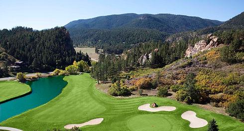 Golf Course Living Perry Park Country Club Larkspur Colorado