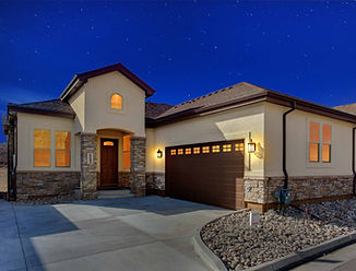 Bayhill New Home Plan Low Maintenance Main Level Master Castle Rock Colorado
