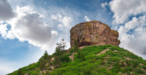 Castle Rock Colorado near Perry Park Larkspur