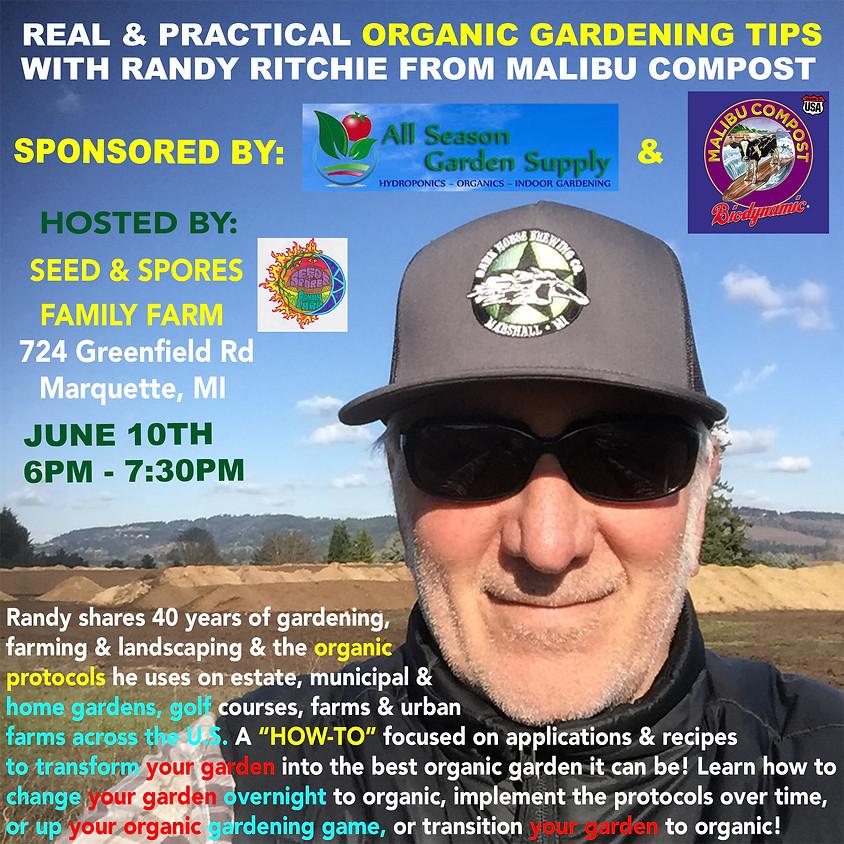 Real & Practical Organic Gardening Tips