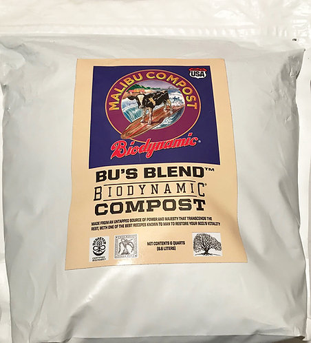 Bu's Blend Biodynamic Compost 6 qt