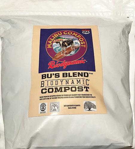 Malibu Compost Bu's Blend Biodynamic Compost 6 qt