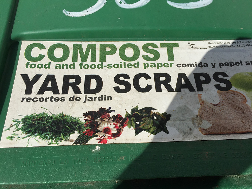 Blog about city green waste compost
