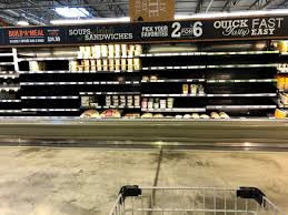 Whole Foods Empty Shelves, Coronavirus Pandemic