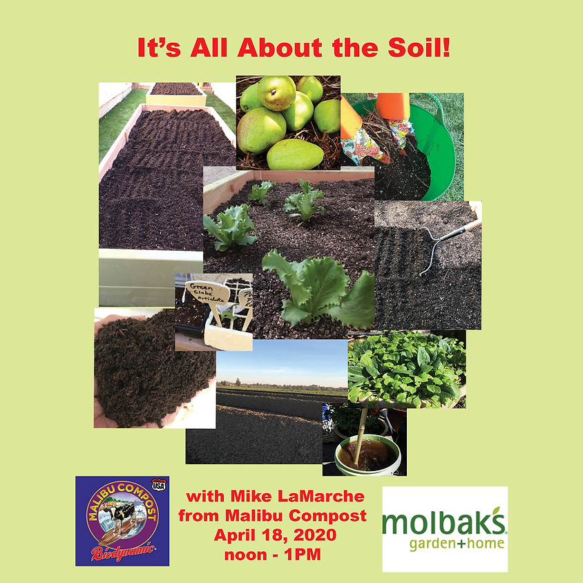 It's ALL About the Soil!