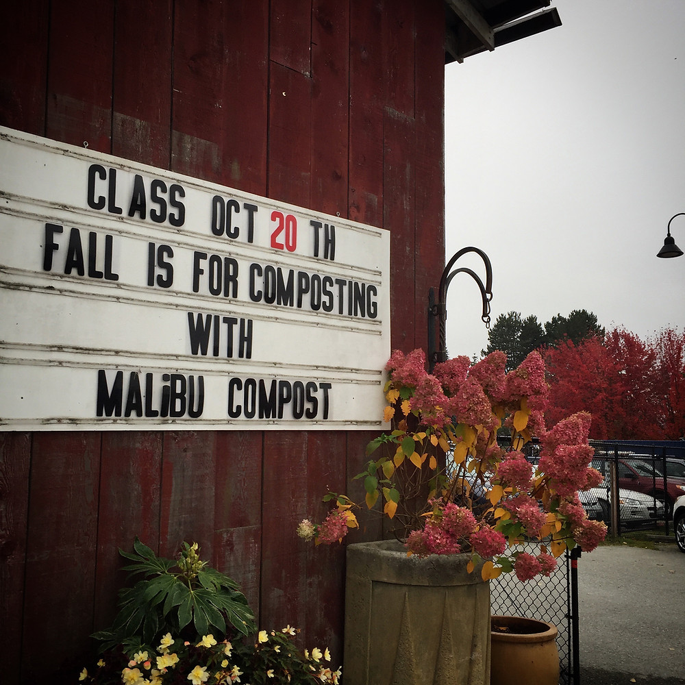 Composting Class at Bayview Farm and Garden