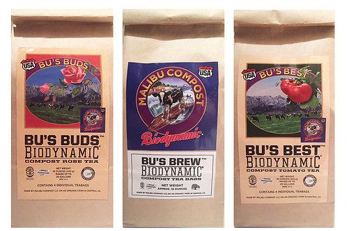 Malibu Compost Tea Package, The Original 3 Compost Teas