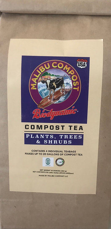 Compost Tea for Plants, Trees and Shrubs