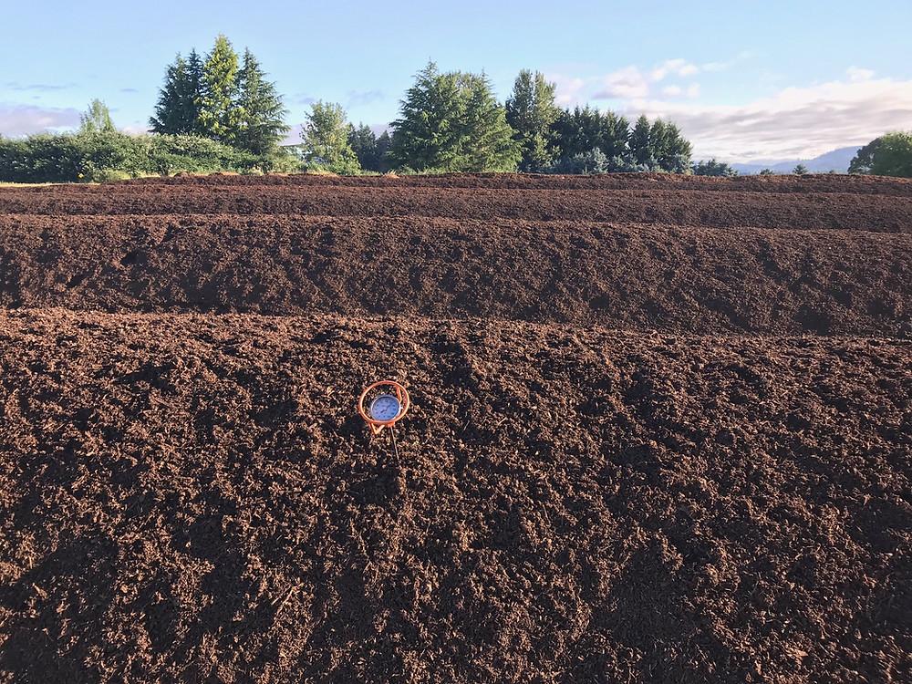 farm made organic compost